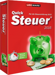 QuickSteuer 2016 (Download), Best.Nr. LXO5037, € 14,95