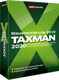 TAXMAN 2020 (Download), EAN: 9783648128497, Best.Nr. LXO5059, erschienen 11/2019, € 29,90