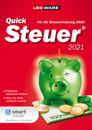 QuickSteuer 2021 (Download), EAN: 9783648144367, Best.Nr. LXO5063, erschienen 11/2020, € 14,95