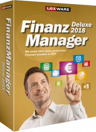 Lexware FinanzManager Deluxe 2018 für 2 PCs (Download), Best.Nr. LXO6055, € 65,95