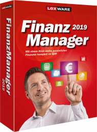 Lexware FinanzManager 2019 (Download), Best.Nr. LXO6056, erschienen 05/2018, € 44,95