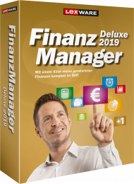 Lexware FinanzManager Deluxe 2019 für 2 PCs (Download), Best.Nr. LXO6057, erschienen 05/2018, € 65,95