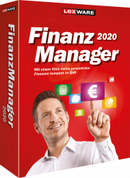 Lexware FinanzManager 2020 (Download), EAN: 9783648124772, Best.Nr. LXO6058, erschienen 05/2019, € 44,95