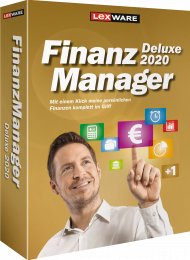 Lexware FinanzManager Deluxe 2020 für 2 PCs (Download), EAN: 9783648124833, Best.Nr. LXO6059, erschienen 05/2019, € 65,95