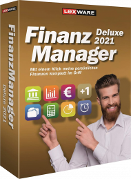 Lexware FinanzManager Deluxe 2021 für 2 PCs (Download), EAN: 9783648139523, Best.Nr. LXO6061, erschienen 05/2020, € 69,95