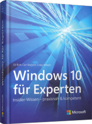 Windows 10 f�r Experten, Best.Nr. MS-325, € 36,90