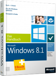 Microsoft Windows 8.1 - Das Handbuch, Best.Nr. MS-5171, € 39,90