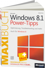 Microsoft Windows 8.1 Power-Tipps - Das Maxibuch, Best.Nr. MS-5236, € 19,90