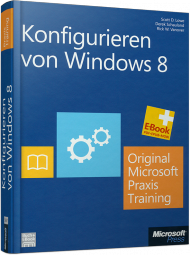 MS-5697, Konfigurieren von Windows 8 von Microsoft Press, 636 S., EUR 69,00 (05/2013), 3-86645-697-2