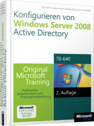 Konfigurieren von Windows Server 2008 Active Directory, Best.Nr. MSE-5970, € 63,20