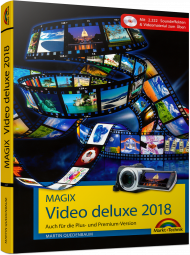 MAGIX Video deluxe 2018, ISBN: 978-3-95982-127-8, Best.Nr. MT-2127, erschienen 12/2017, € 29,95
