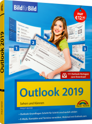 Outlook 2019 Bild für Bild, ISBN: 978-3-95982-167-4, Best.Nr. MT-2167, erschienen 05/2019, € 12,95