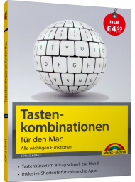 Tastenkombinationen für den Mac, ISBN: 978-3-95982-168-1, Best.Nr. MT-2168, erschienen 06/2019, € 4,95