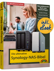 Die ultimative Synology NAS Bibel inkl. E-Book, ISBN: 978-3-95982-180-3, Best.Nr. MT-2180, erschienen 07/2020, € 19,95