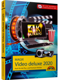 MAGIX Video deluxe 2020, ISBN: 978-3-95982-195-7, Best.Nr. MT-2195, erschienen 11/2019, € 29,95
