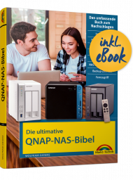Die ultimative QNAP-NAS-Bibel, ISBN: 978-3-95982-223-7, Best.Nr. MT-2223, erschienen , € 19,95