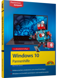 Windows 10 Pannenhilfe, ISBN: 978-3-95982-232-9, Best.Nr. MT-2232, erschienen , € 9,95