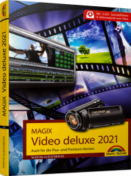 MAGIX Video deluxe 2021, ISBN: 978-3-95982-248-0, Best.Nr. MT-2248, erschienen 12/2020, € 29,95
