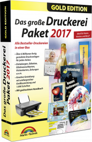 Das gro�e Druckerei Paket 2017 - Gold Edition, Best.Nr. MT-2755, € 28,95