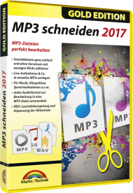 MP3 schneiden 2017 - Gold Edition, Best.Nr. MT-2757, € 13,95