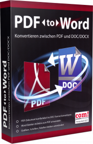 PDF to Word, EAN: 9783959827690, Best.Nr. MT-2769, erschienen 11/2016, € 17,95