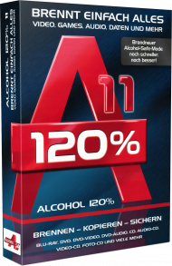 Alcohol 120% 11, Best.Nr. MT-2777, € 29,99