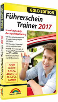 F�hrerschein Trainer 2017 - Gold Edition, Best.Nr. MT-2779, € 13,95