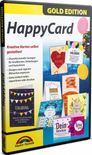 HappyCard - Gold Edition, EAN: 4251357805572, Best.Nr. MT-80557, erschienen 11/2017, € 13,95