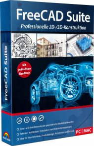 FreeCAD Suite, EAN: 4251357806654, Best.Nr. MT-80665, erschienen 01/2019, € 14,99
