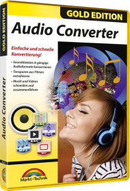 Audio Converter - Gold Edition, EAN: 4251357806791, Best.Nr. MT-806791, erschienen 05/2019, € 18,95