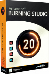 Ashampoo Burning Studio 20, EAN: 4251357806883, Best.Nr. MT-80688, erschienen 03/2019, € 17,95