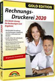 Rechnungs-Druckerei 2020 - Gold Edition, EAN: 4251357807149, Best.Nr. MT-80714, erschienen 10/2019, € 17,99