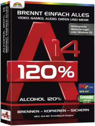 Alcohol 120% 14, EAN: 4251357807385, Best.Nr. MT-80738, erschienen 10/2019, € 24,99