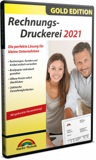 Rechnungs-Druckerei 2021 - Gold Edition, EAN: 4251357809099, Best.Nr. MT-80909, erschienen 11/2020, € 17,99