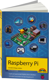 Raspberry Pi, ISBN: 978-3-945384-29-9, Best.Nr. MT-84299, erschienen 01/2015, € 16,95