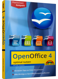 MT-84480, OpenOffice 4 optimal nutzen von Markt + Technik, 264 S., EUR 12,95 (07/2015), 3-945384-48-6