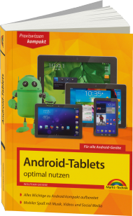 Android-Tablets optimal nutzen - Praxiswissen kompakt, Best.Nr. MTE-84176, € 11,99