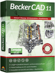 BeckerCAD 11 3D (Download), Best.Nr. MTO-80625, erschienen 09/2018, € 59,95