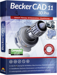 BeckerCAD 11 3D Pro (Download), Best.Nr. MTO-80626, erschienen 09/2018, € 99,95