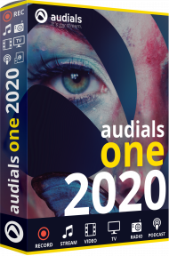 Audials One 2020 (Download), Best.Nr. MTO-8502, erschienen 10/2019, € 19,99