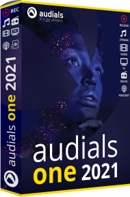 Audials One 2021 (Download), Best.Nr. MTO-8503, erschienen 11/2020, € 29,90