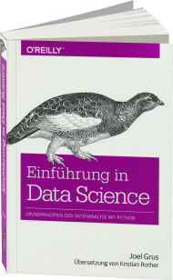 Einführung in Data Science, ISBN: 978-3-96009-021-2, Best.Nr. OR-021, erschienen 04/2016, € 34,90