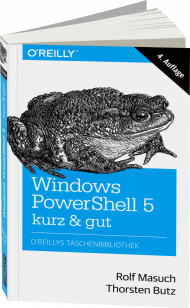 Windows PowerShell 5 - kurz & gut, Best.Nr. OR-027, € 14,90