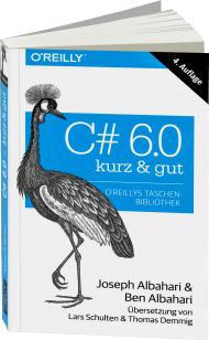 C# 6.0 - kurz & gut, Best.Nr. OR-029, € 14,90