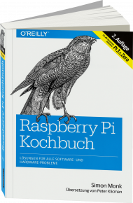 Raspberry Pi Kochbuch, ISBN: 978-3-96009-033-5, Best.Nr. OR-033, erschienen 01/2017, € 29,90