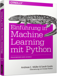 Einführung in Machine Learning mit Python, Best.Nr. OR-0496, € 39,90