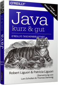 Java - kurz & gut, ISBN: 978-3-96009-051-9, Best.Nr. OR-051, erschienen 04/2018, € 14,90