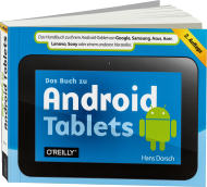 Das Buch zu Android-Tablets, Best.Nr. OR-0616, € 19,90