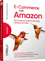 E-Commerce mit Amazon, ISBN: 978-3-96009-067-0, Best.Nr. OR-0670, erschienen 06/2019, € 36,90