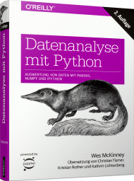 Datenanalyse mit Python, ISBN: 978-3-96009-080-9, Best.Nr. OR-080, erschienen 10/2018, € 44,90
